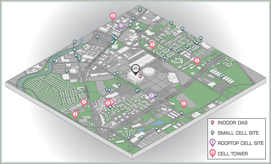 NRG Stadium Cell Tower Map copy