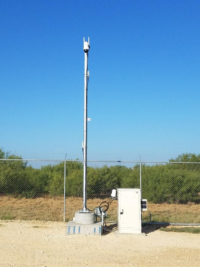 Small cell pole